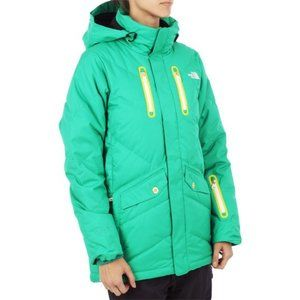 The North Face Gimme More Cryptic RECCO 600 Goose Down Puffer Jacket Green M
